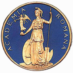 emblem_academia-romana Romanian language